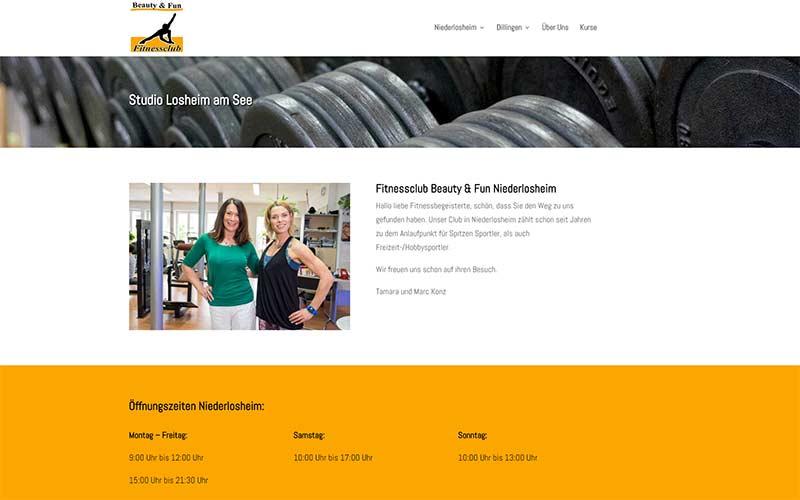 Unsere neue Website ist fast fertig